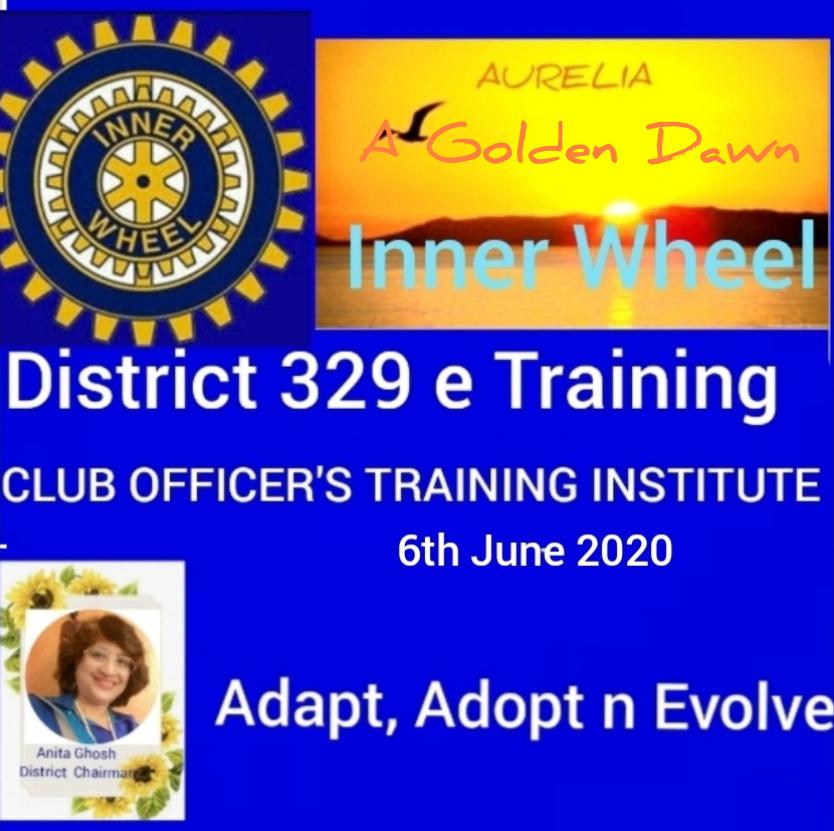 CLUB OFFICER'S TRAINING INSTITUTE - COTI