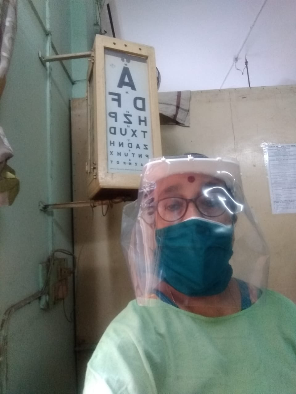 INNER WHEEL DOCTORS IN ACTION DURING THE COVID19 PANDEMIC DR ANINDITA BANERJEE OF IWC CALCUTTA SOUTH CITY TOWERS
